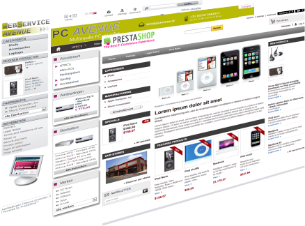 Webshop of website starten?